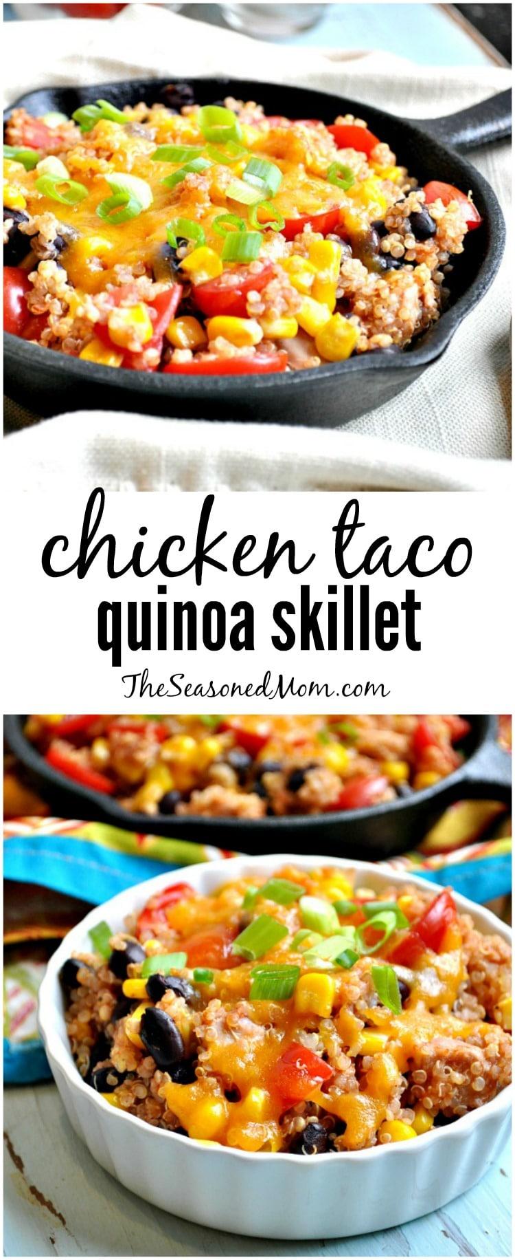 Chicken-Taco-Quinoa-Skillet