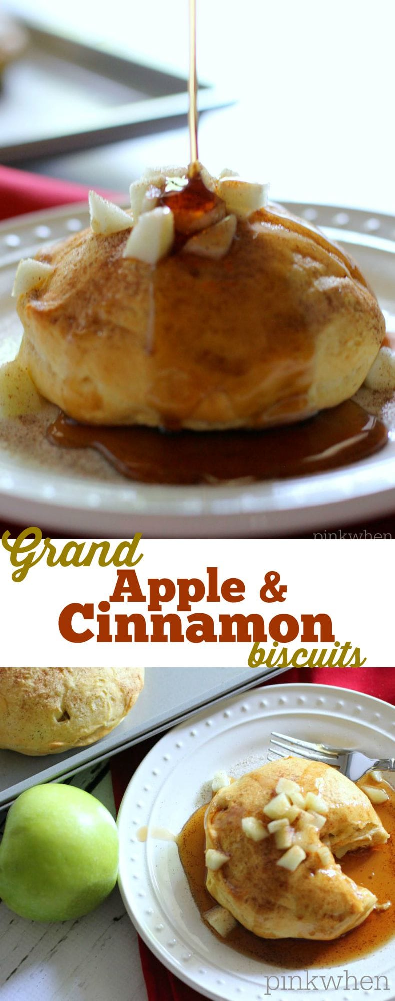 Grand Apple and Cinnamon Biscuit |PinkWhen