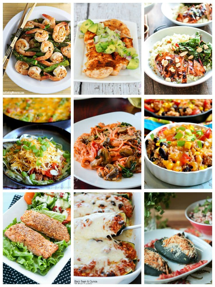 Healthy Dinner Ideas Pin