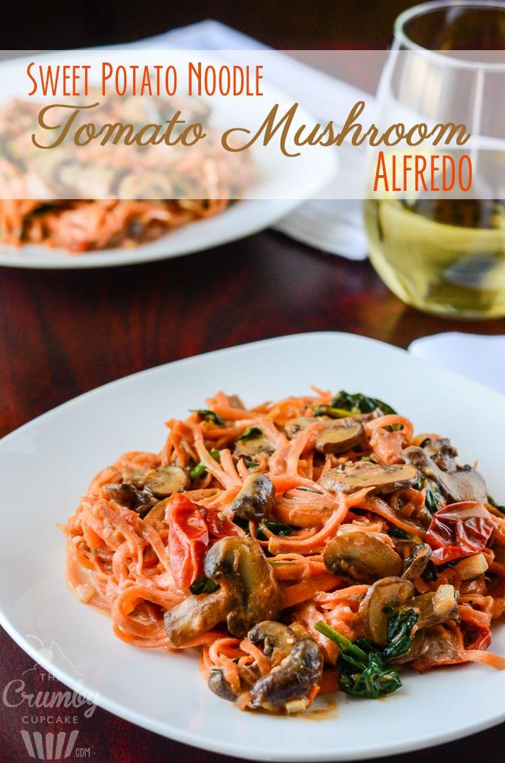 Sweet-Potato-Noodle-Tomato-Mushroom-Alfredo