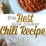 The Best Slow Cooker Chili Recipe with Freezer Instructions | PinkWhen