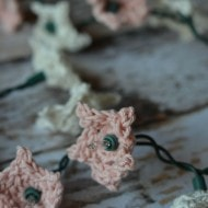 Crochet Star Flower Lights