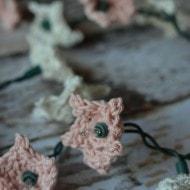 Crochet Star Flower Lights
