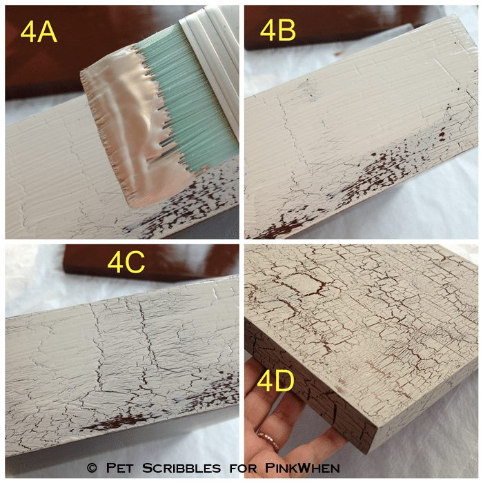 how to make paint crackle