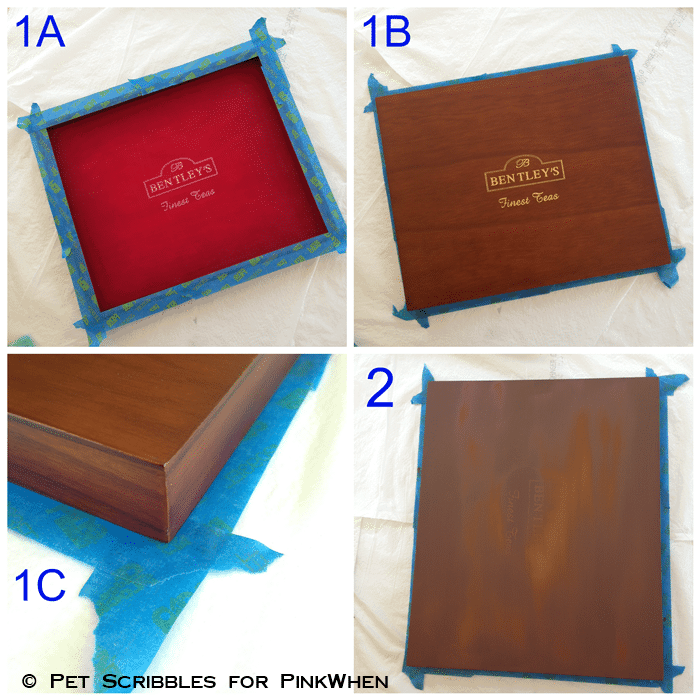 upcycle a tea box