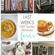 diy Sunday Showcase 9/19, & Favs!