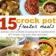 How to Make Freezer Crockpot Meals – 7 Simple Steps