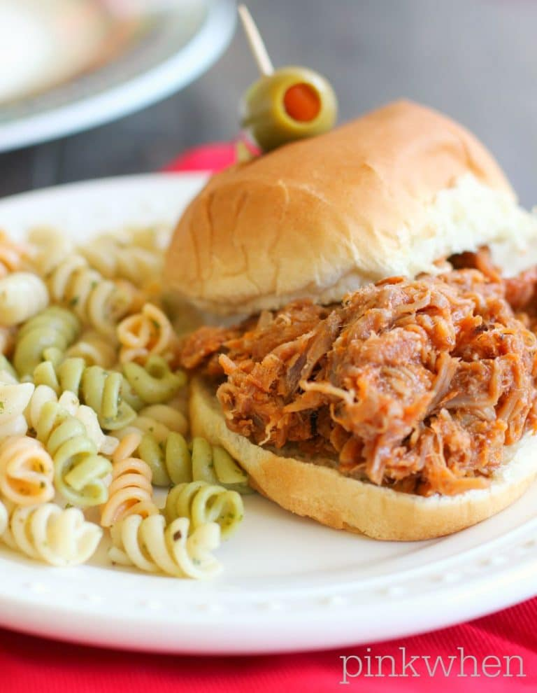 Crock Pot Pulled Pork PinkWhen 3
