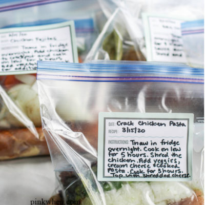 Freezer Crockpot Meals for Busy Weeknights