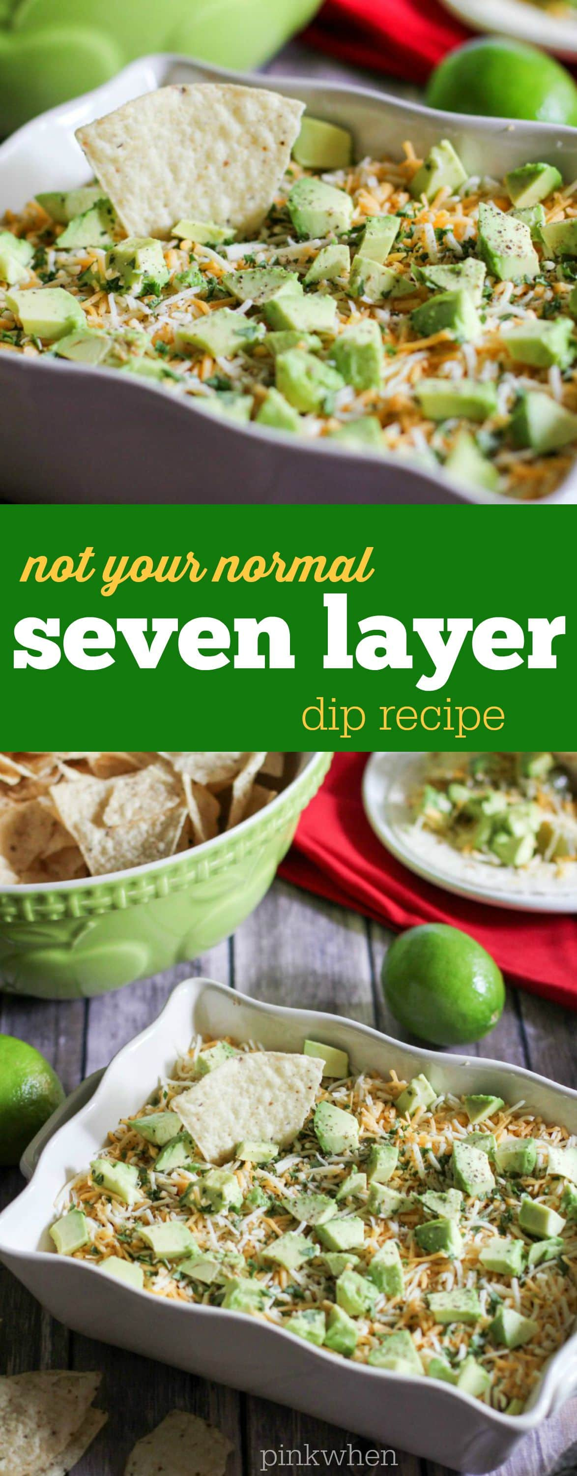 Not Your Normal Seven Later Dip Recipe | PinkWhen
