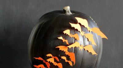 Easy Halloween Pumpkin Craft
