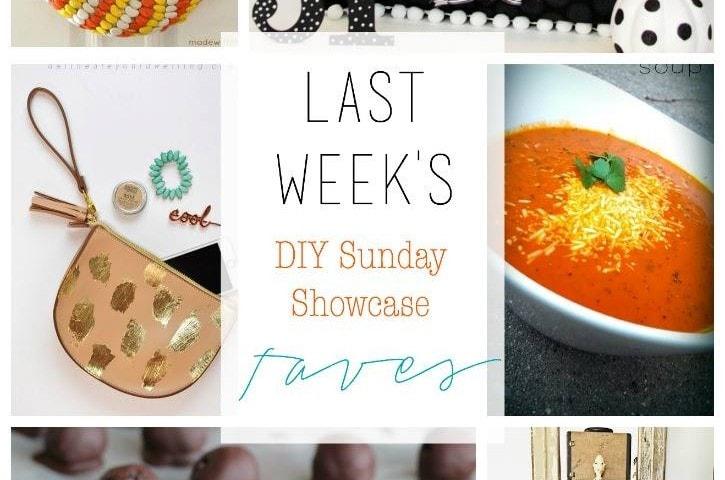 diy Sunday Showcase 10/10, & FAVS!