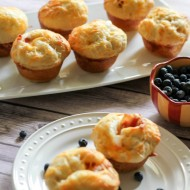 Cream Cheese Cheddar Bacon Biscuit Muffins