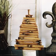 DIY Gold Driftwood Tree Pottery Barn Knockoff