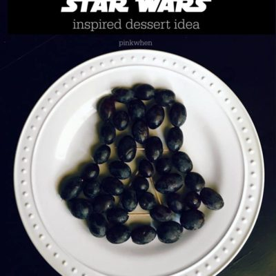Darth Vader Star Wars Inspired Dessert Idea