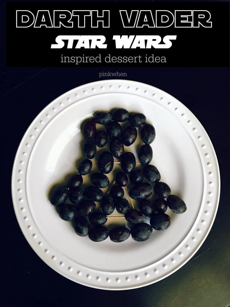 Darth Vader Star Wars Inspired Dessert Idea - A super easy Star Wars dessert found on PinkWhen