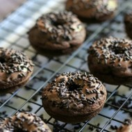 Death by Chocolate Triple Chocolate Donuts