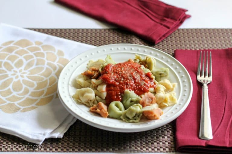 Easy 3 Cheese Tortellini Recipe