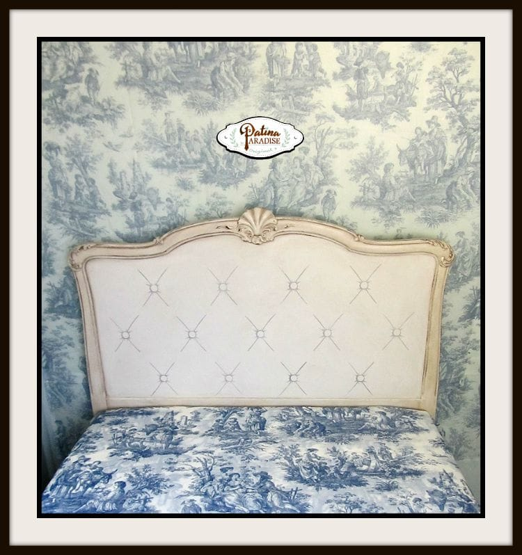 FAUX TUFTING TOILE