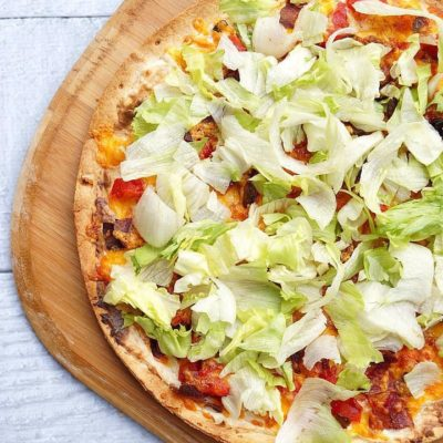 How to Make a BLT Pizza