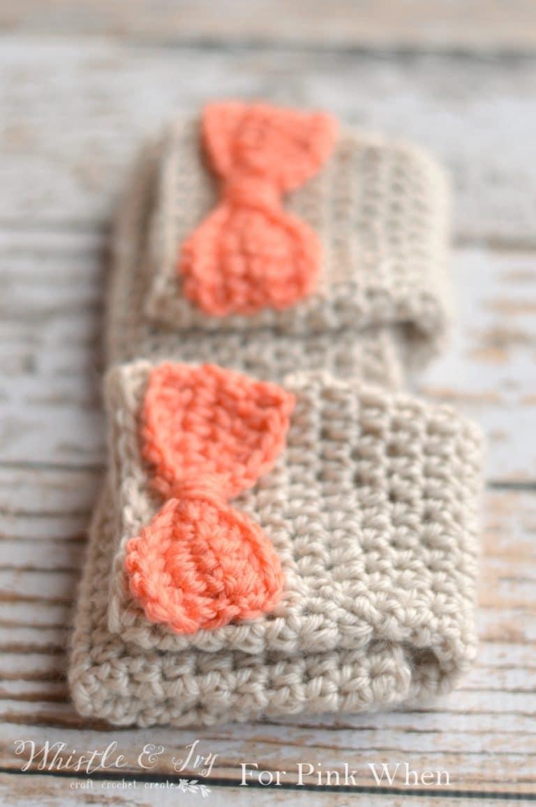 Dainty bow crochet arm warmers pinkwhen daintybowarmwarmerszpw2 bankloansurffo Images