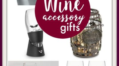 10 Great Wine Accessory Gift Ideas for that special someone who loves wine! | PinkWhen