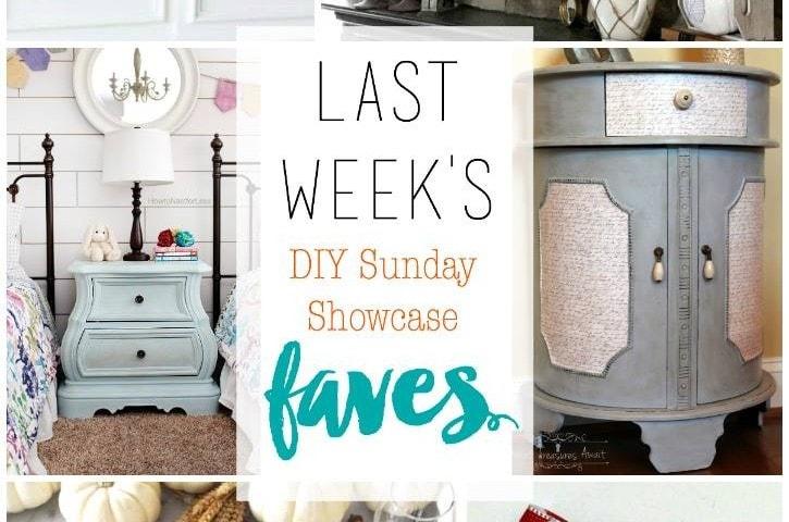 diy Sunday Showcase 11/21, & FAVS!