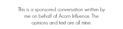 Acorn Influence Disclaimer