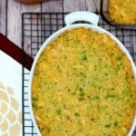 Cheesy Chicken Broccoli Rice Casserole & Holiday Acorn Box