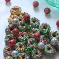 Donut Christmas Tree Dessert