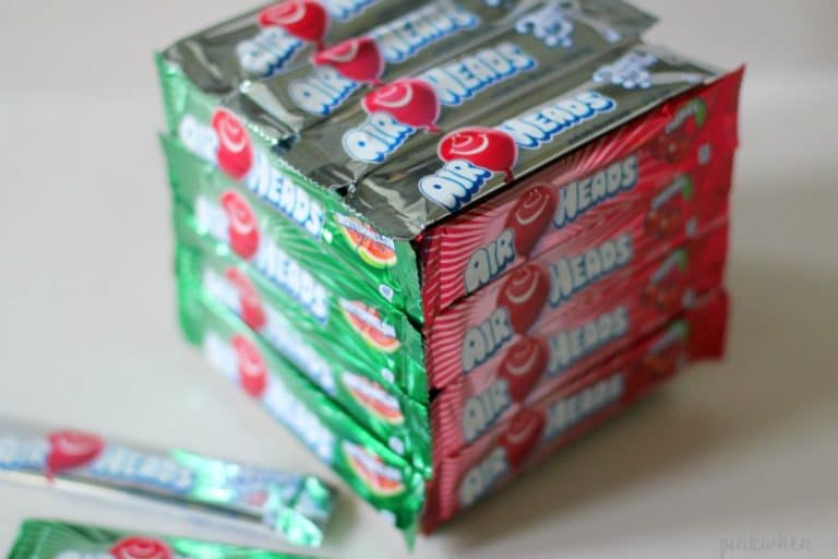 Edible Airheads Candy Christmas Present | PinkWhen