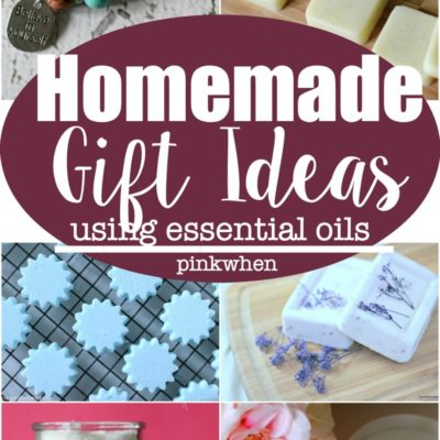 Homemade Gift Ideas Using Essential Oils