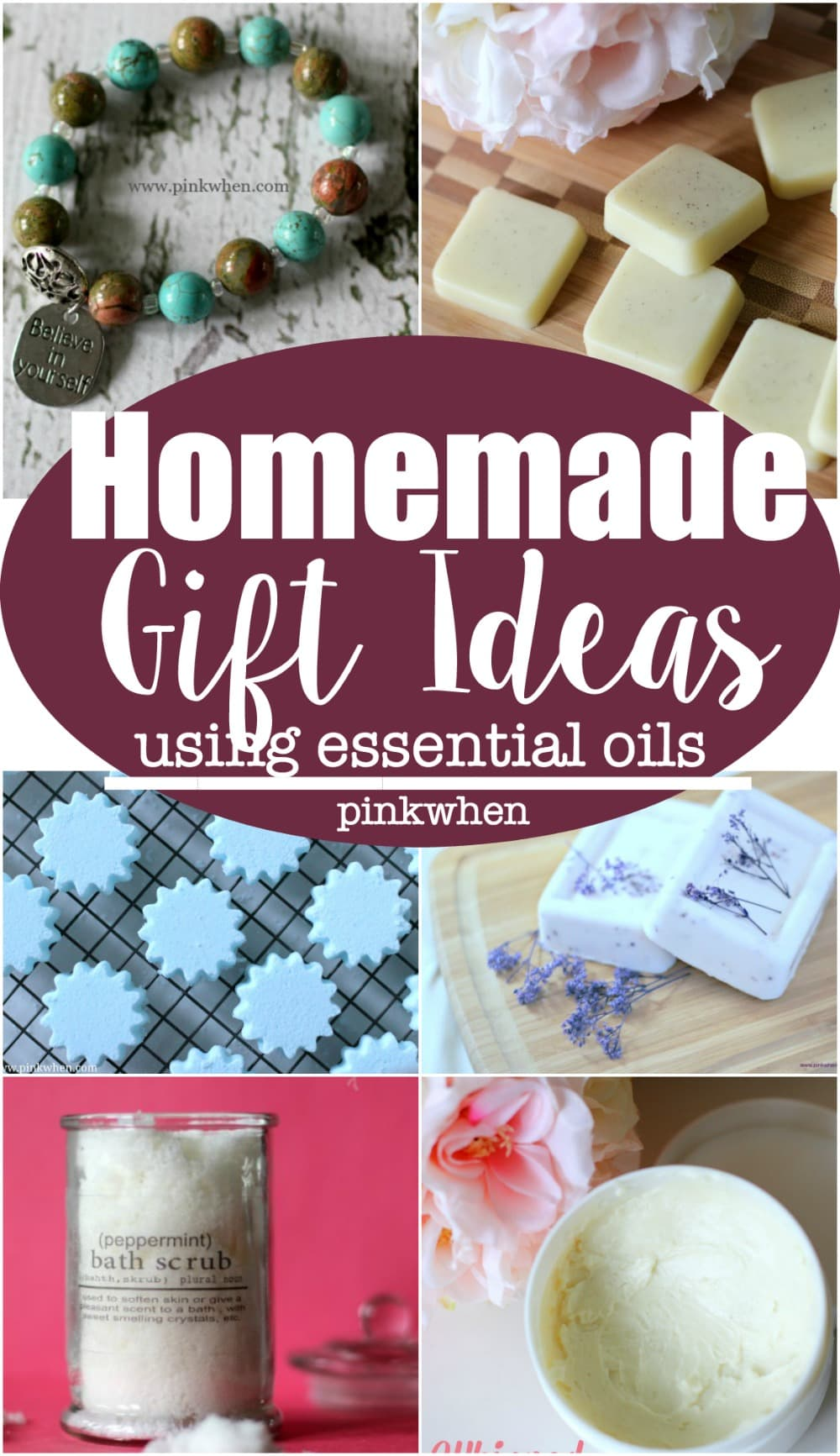 Homemade gift ideas using essential oils pinkwhen homemade gift ideas if you are thinking of getting essential oils or are new to negle Images