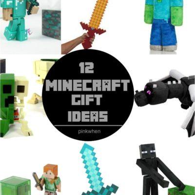 12 MINECRAFT Gift Ideas