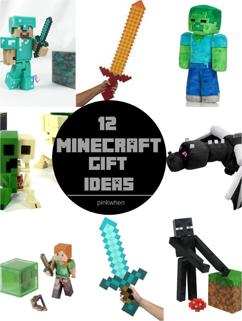 12 Minecraft Gift Ideas - Perfect for Christmas, birthdays, or just because. Sure to make any Minecraft fan happy! | PinkWhen