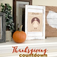 Happy Thanksgiving November Free Printable