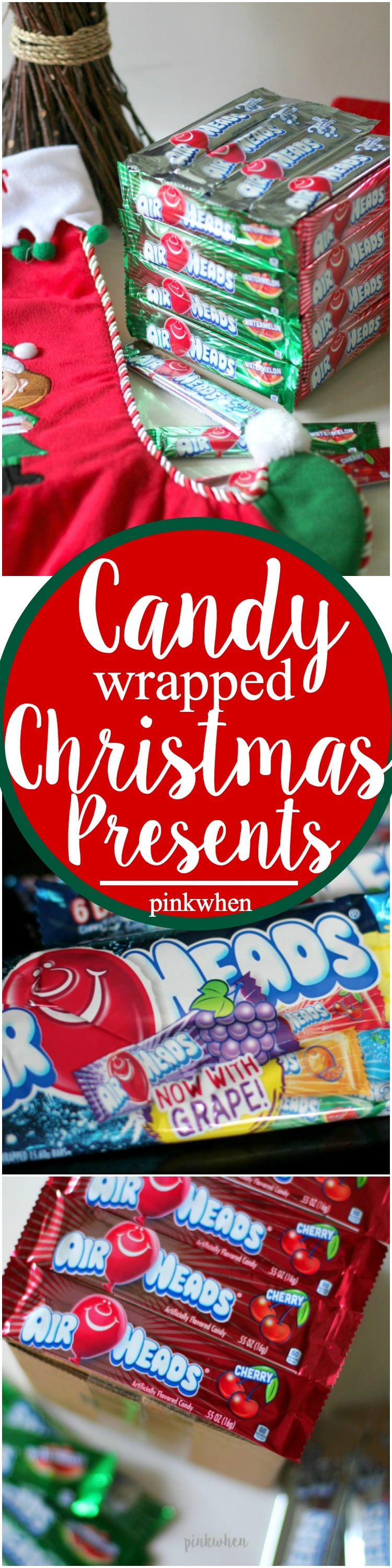 Try something new this year with these Candy Wrapped Christmas Presents!