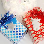 DIY Christmas Gift Tags made from Styrofoam! Moose and Stars! | PinkWhen