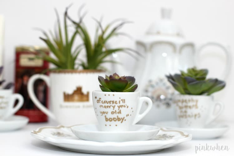 DIY Downton Abbey Teacups 5