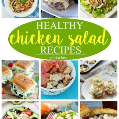 12 Amazing Chicken Salad Recipes
