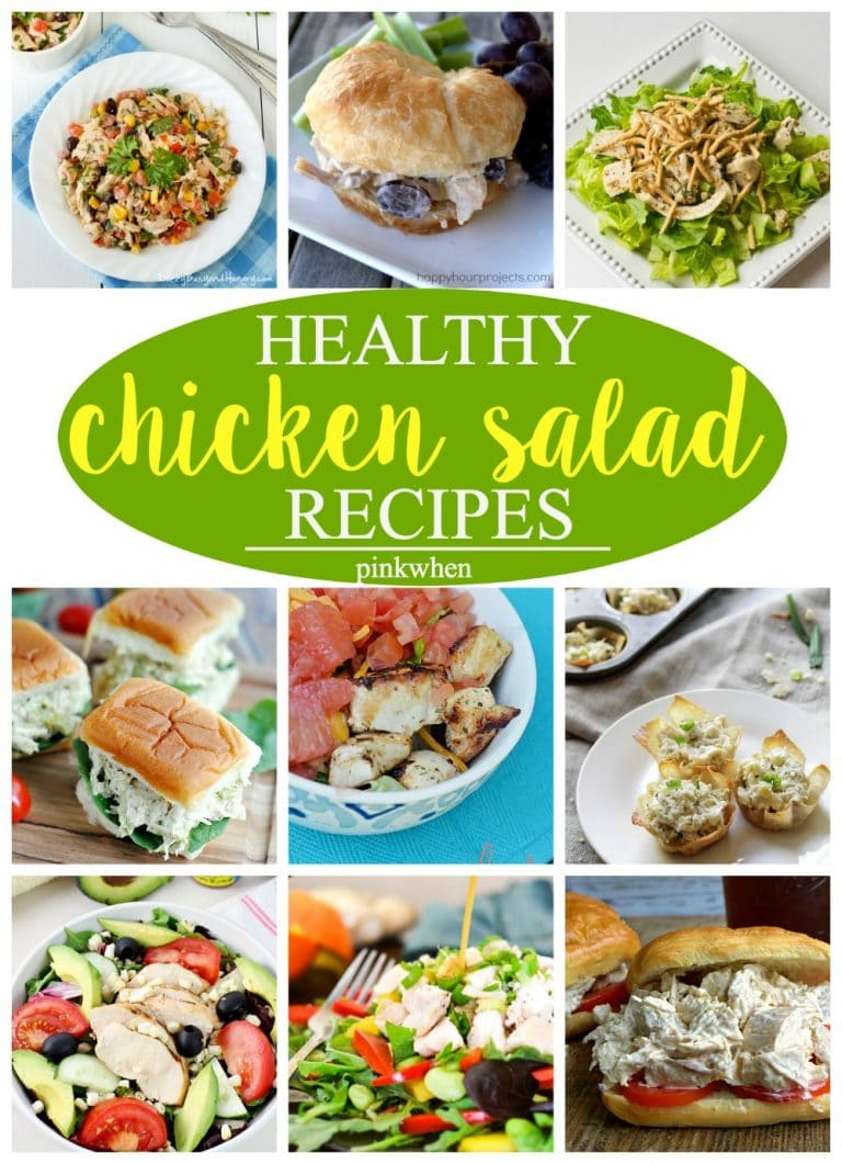 Healthy Chicken Salad Recipes | PinkWhen
