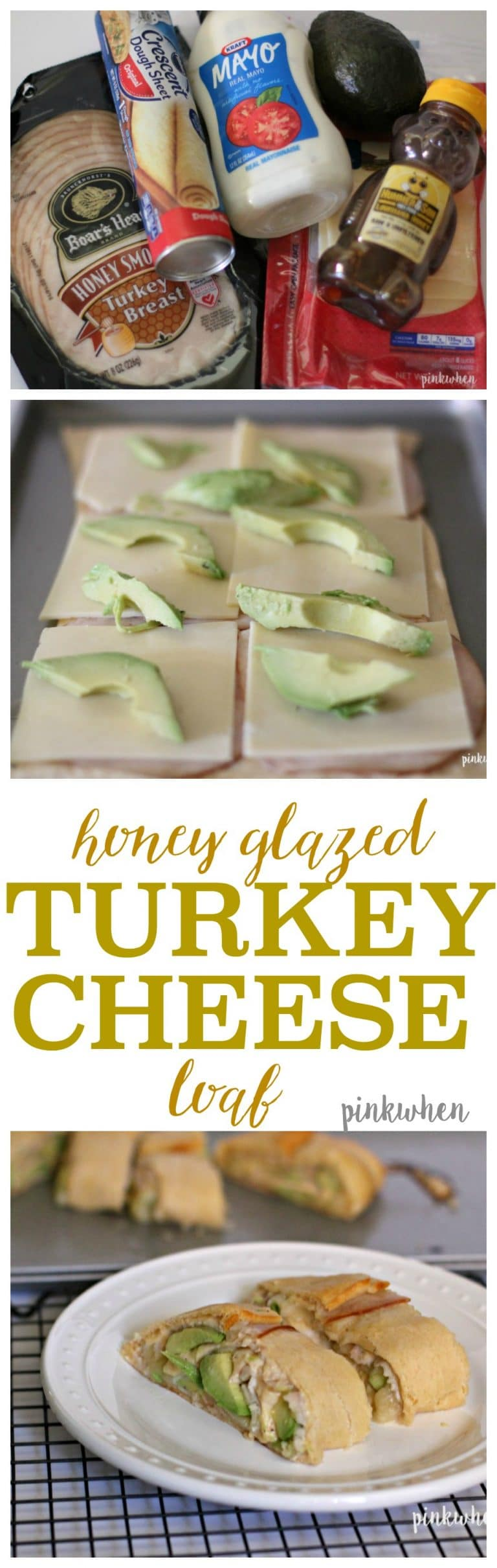 Honey Glazed Turkey Cheese Loaf
