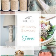 diy Sunday Showcase 1/9, & FAVS!