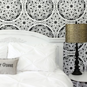 DIY Refashioned Headboard
