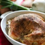 This delicious easy baked chicken recipe is moist and flavorful and one of my favorite whole 30 compliant and paleo compliant chicken recipes.