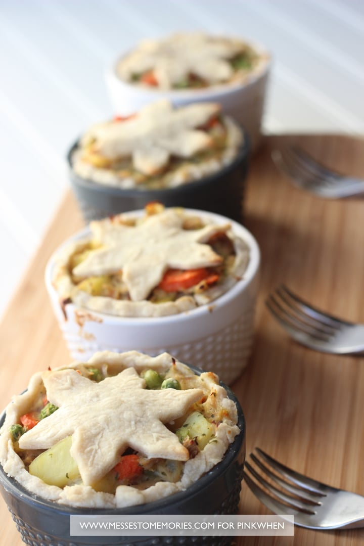 Turkey Pot Pie Recipe - a delicious winter comfort food!