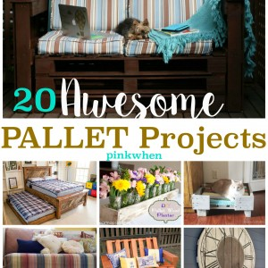 Amazingly Awesome Pallet Projects