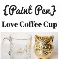 DIY Love Coffee Cup