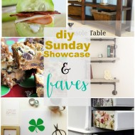 diy Sunday Showcase 2/20, & Faves!