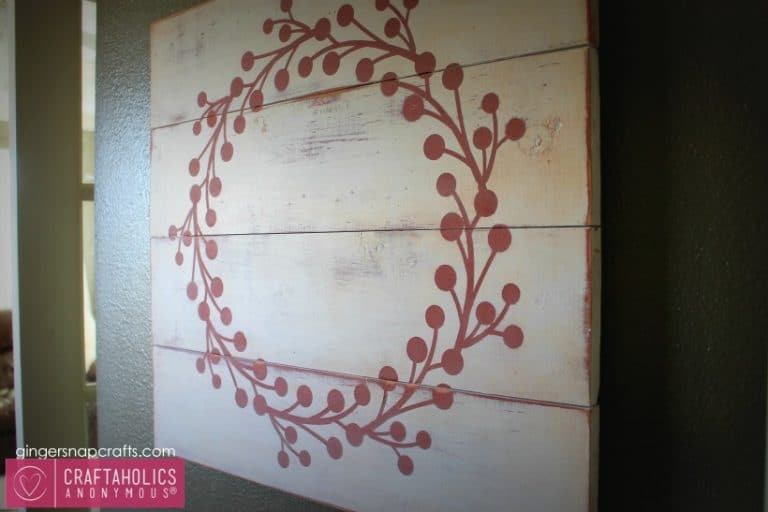 Awesome Pallet Projects - Pallet wreath